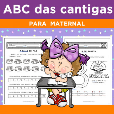 ABC das CANTIGAS - Volume 1