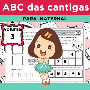 ABC das Cantigas - Volume 3