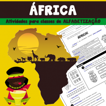 África - Atividades para classes de alfabetização