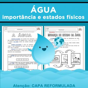 A Água - importância e estados físicos