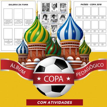 Álbum pedagógico COPA DO MUNDO