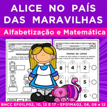 Alice no país das maravilhas - alfabetização e matemática