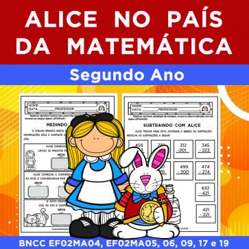 Alice no País da Matemática - SEGUNDO ANO