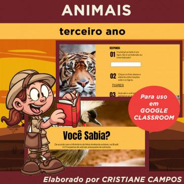 Animais - para Google Classroom