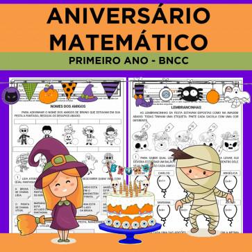 Aniversário Matemático - BNCC Primeiro Ano