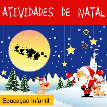 Atividades de Natal - Educação Infantil