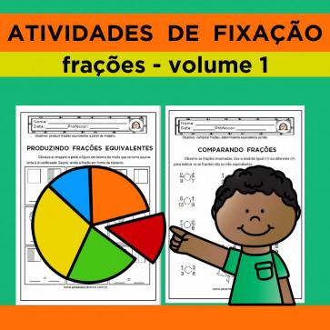 Atividades de Fixação - Frações - Volume 1