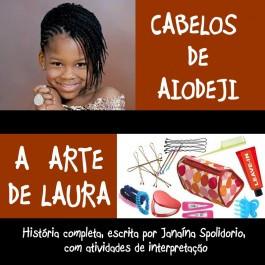 Cabelos de Aiodeji, arte de Laura
