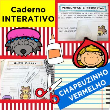 Caderno Interativo CHAPEUZINHO VERMELHO