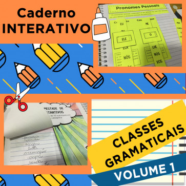 Caderno Interativo CLASSES GRAMATICAIS - Volume 1