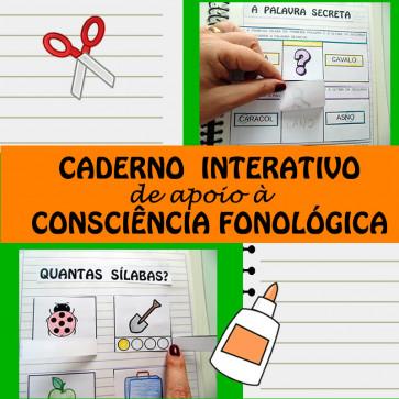 Caderno Interativo de apoio à CONSCIÊNCIA FONOLÓGICA
