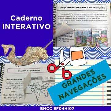 Caderno Interativo - GRANDES NAVEGAÇÕES