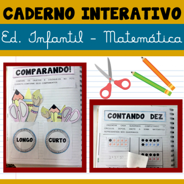 Caderno interativo - Ed. Infantil - Matemática