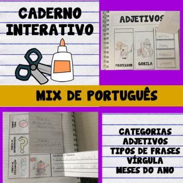 Caderno interativo - MIX DE PORTUGUÊS - 2º e 3º anos