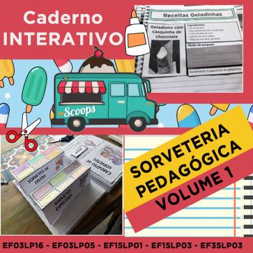 Caderno Interativo - SORVETERIA PEDAGÓGICA - PORTUGUÊS