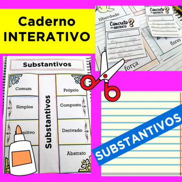 Caderno Interativo - SUBSTANTIVOS