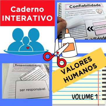 Caderno Interativo - VALORES HUMANOS