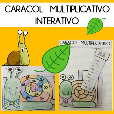 Caracol Multiplicativo Interativo