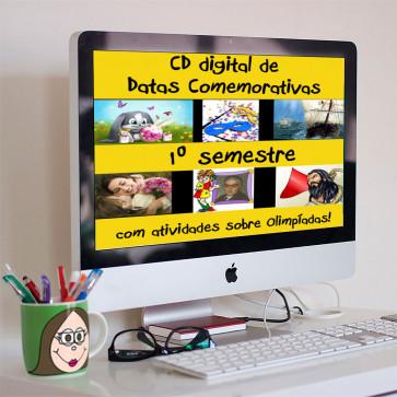 CD digital de Datas Comemorativas - Semestre 1