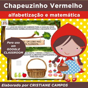 Chapeuzinho Vermelho - para Google Classroom