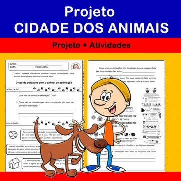 Cidade dos Animais - projeto + atividades