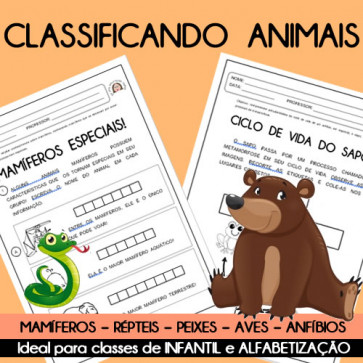 Classificando animais
