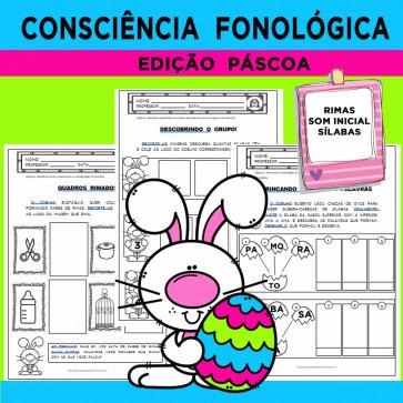 Consciência Fonológica - Edição PÁSCOA