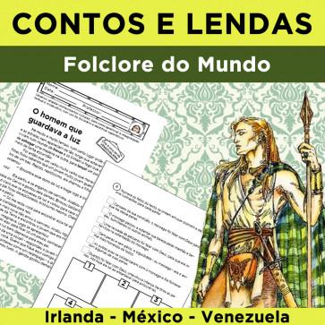 Contos e Lendas - Folclore Mundial - Volume 1