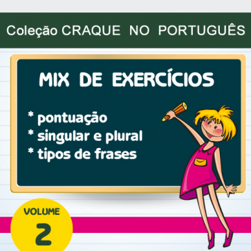Coleção CRAQUE NO PORTUGUÊS - Mix de Exercícios 2