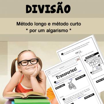Divisão - método curto e método longo