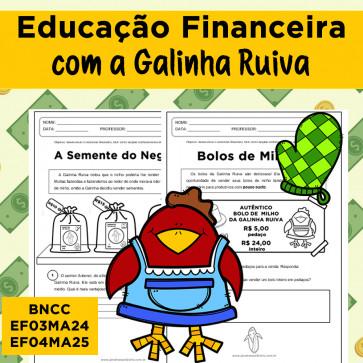 Educação Financeira com a Galinha Ruiva
