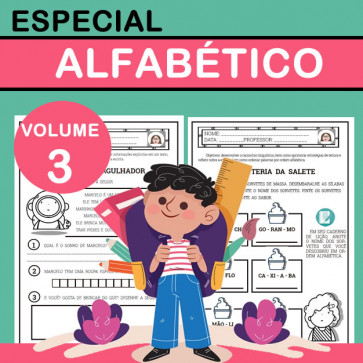 Especial Alfabético - Volume 3