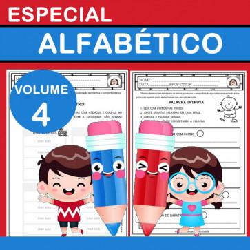 Especial ALFABÉTICO - volume 4