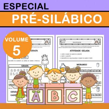 Especial Pré-silábico - Volume 5