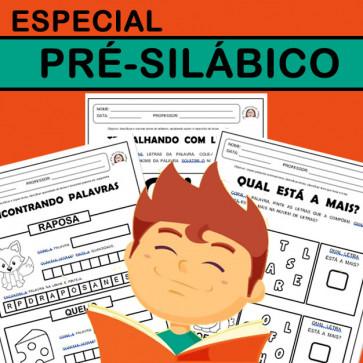 Especial PRÉ-SILÁBICOS