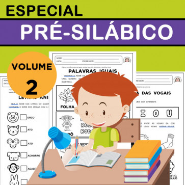 Especial pré-silábicos - volume 2