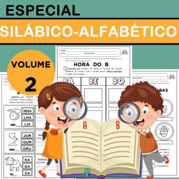 Especial SILÁBICO -ALFABÉTICO - Volume 2