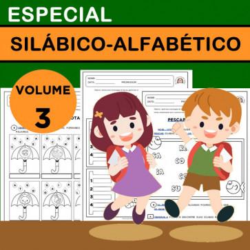 Especial SILÁBICO-ALFABÉTICO - Volume 3