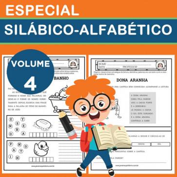 Especial SILÁBICO-ALFABÉTICO - Volume 4