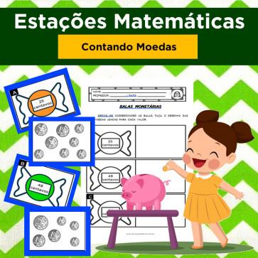 Estações Matemáticas - CONTANDO MOEDAS