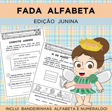 Fada Alfabeta - EDIÇÃO JUNINA