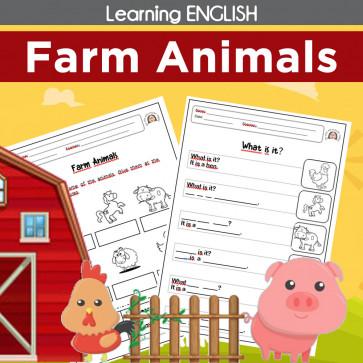 Learning English - FARM ANIMALS