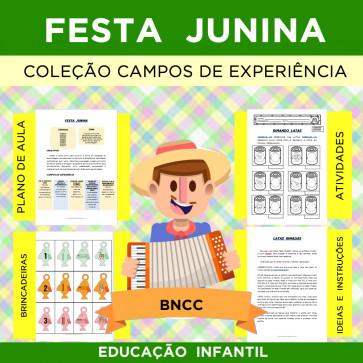 Festa Junina -Coleção CAMPOS DE EXPERIÊNCIA