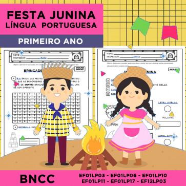 Festa Junina - Português - Primeiro ano