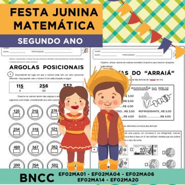 Festa Junina Matemática - SEGUNDO ANO