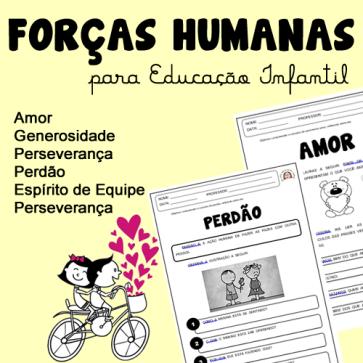 Forças Humanas - para Ed. Infantil
