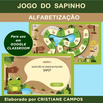 Jogo do Sapinho - para Google Classroom