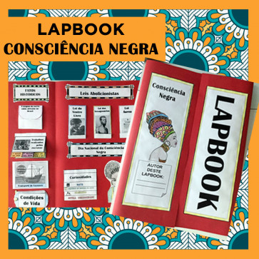 Lapbook CONSCIÊNCIA NEGRA