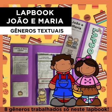 Lapbook João e Maria - GÊNEROS TEXTUAIS