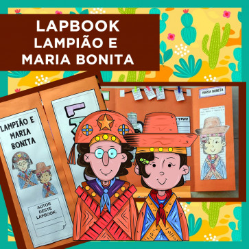 Lapbook LAMPIÃO e MARIA BONITA